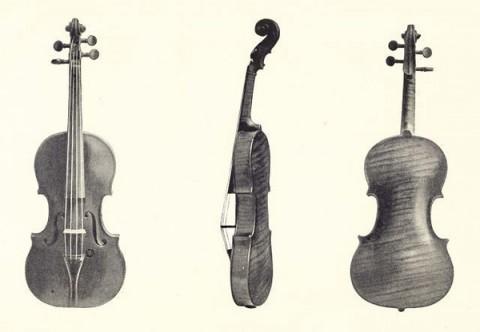 《販琴瑣憶》斯特拉迪瓦里小提琴插圖