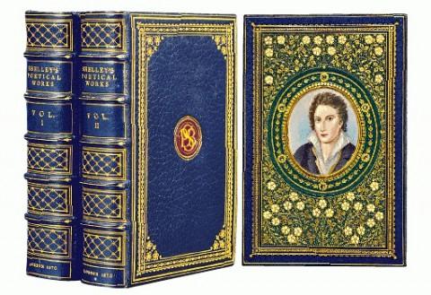 《雪萊詩作》羅賽蒂 William Michael Rossetti 注疏本,一八七○年出版