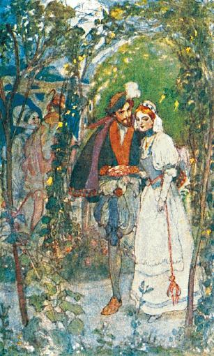 《浮士德》一九○八年英文版插圖